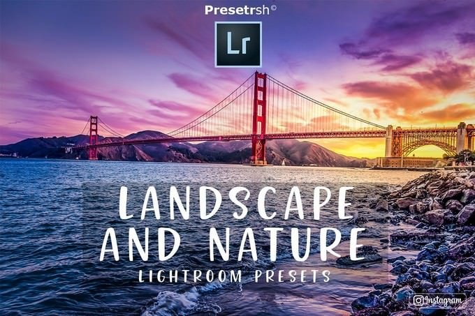 Landscape Nature Lightroom Presets