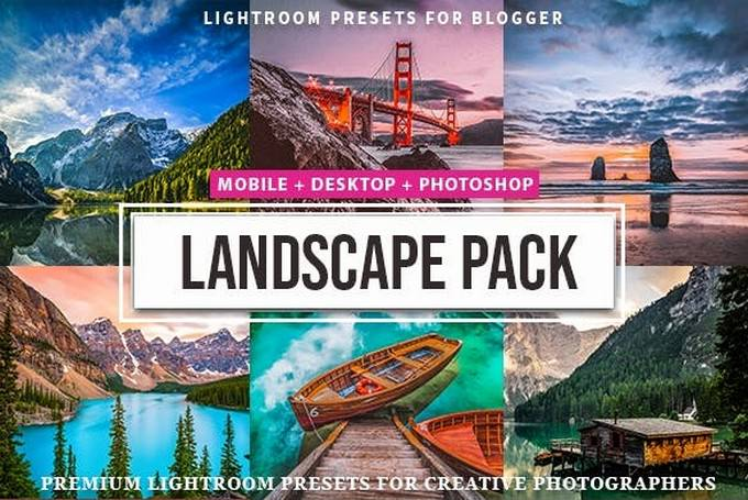 Landscape Presets Lightroom