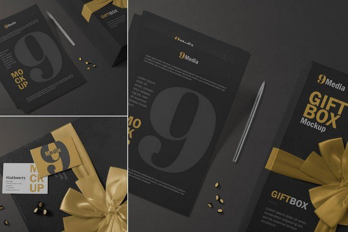 Letterhead & Business Card Mockup