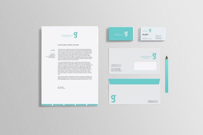 Identity Mock-up Design