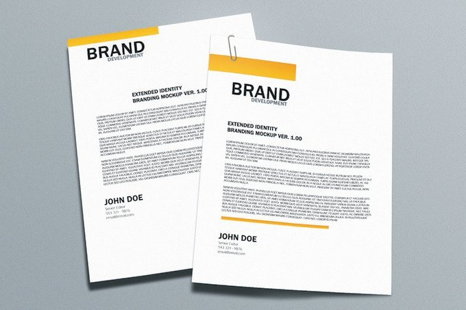 Brand PSD Template
