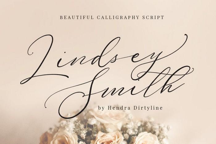 Lindsey Smith Script signature Luxury