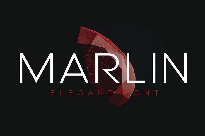 MARLIN - Luxury font