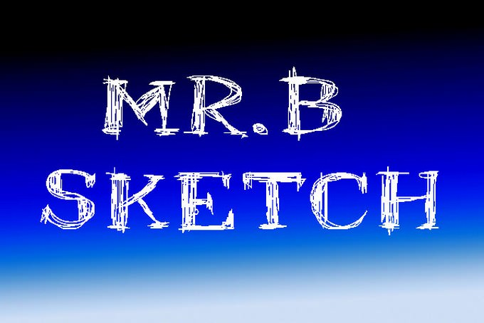 Mr.B Sketch Font