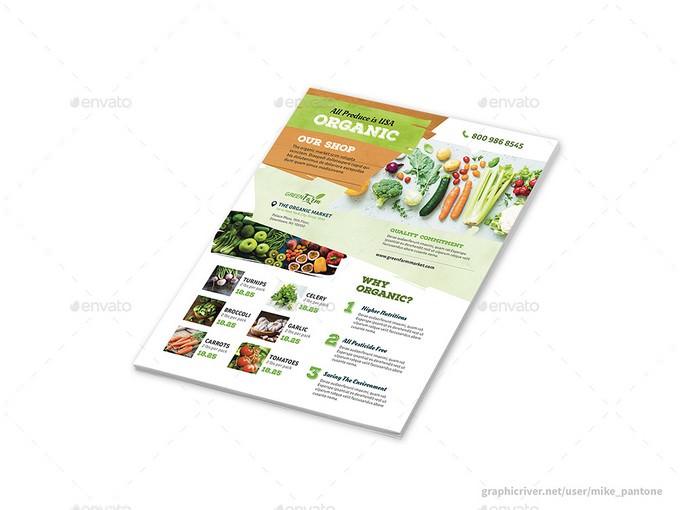 Organic Suuper Market Flyers