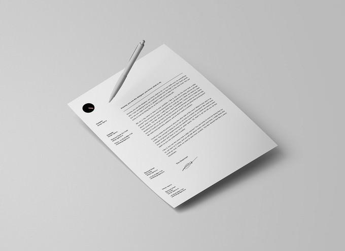 PSD Letterhead