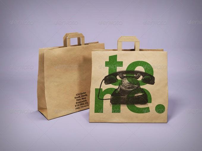 Paper Bag Pack