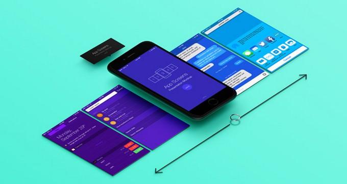 Perspective App Screens