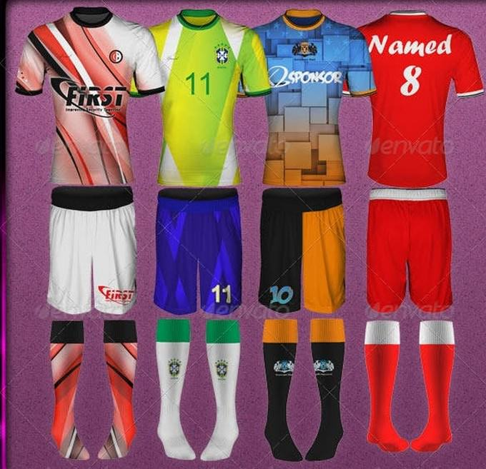 Photorealistic Soccer Outfit