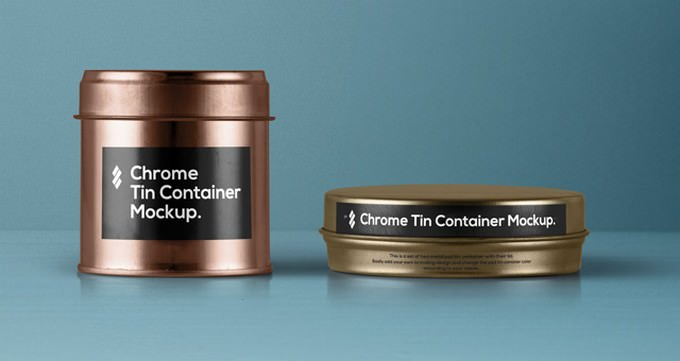 Psd Tin Container Packaging