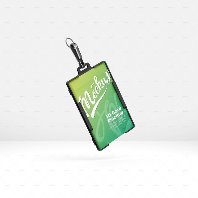 27+ Hanging ID Card Mockups For Professional Identity - Templatefor