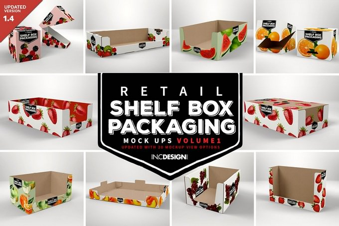 Retail Shelf Box Packaging