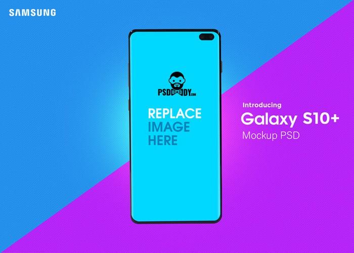 Samsung Galaxy S10 Mockup Template