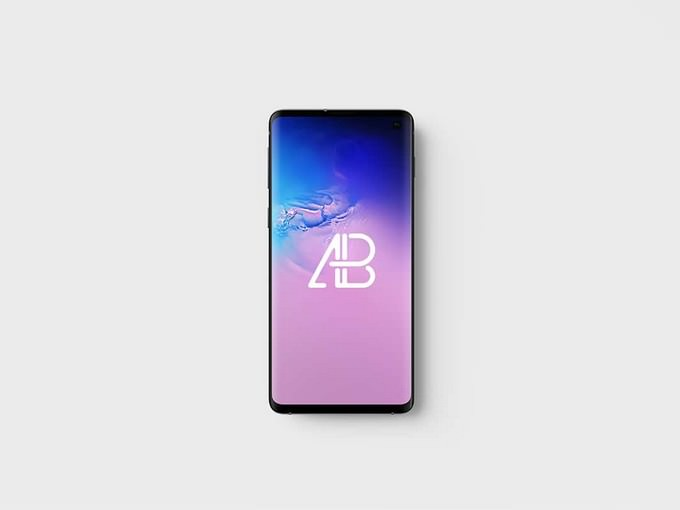 Galaxy S10 Top View