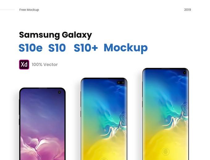 PSD of Galaxy S10e, S10, S10