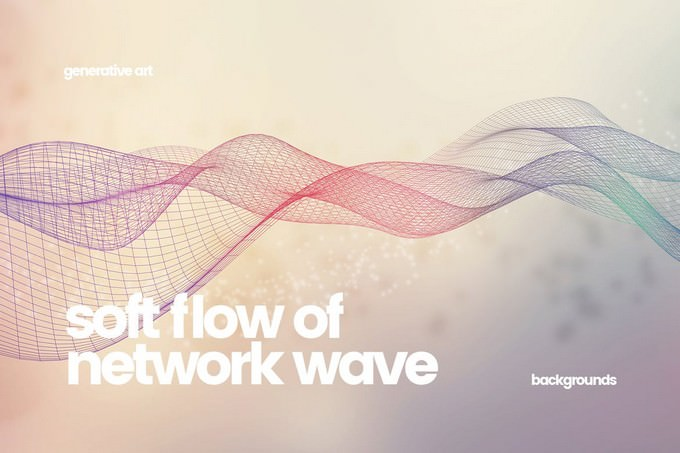 Soft Flow of Network Wave