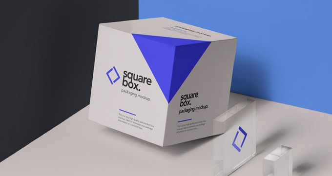 Square Psd Box Packaging