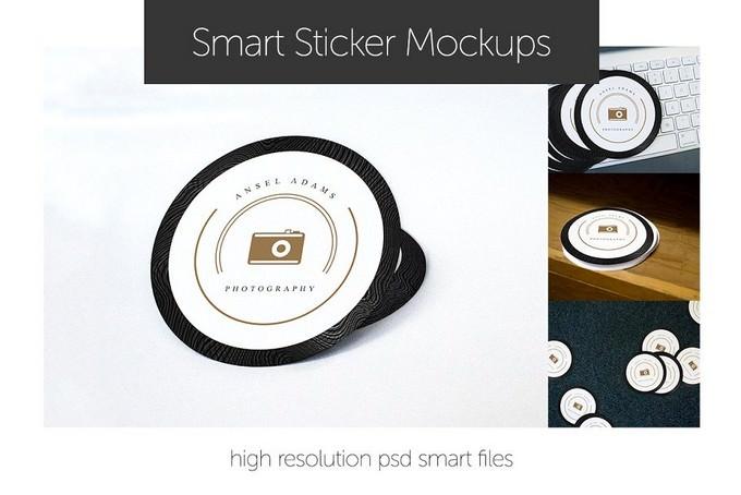 Sticker Mockups Smart