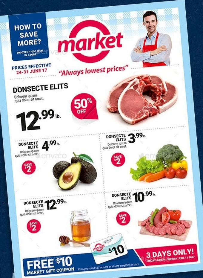 Supermarket Sale Flyer