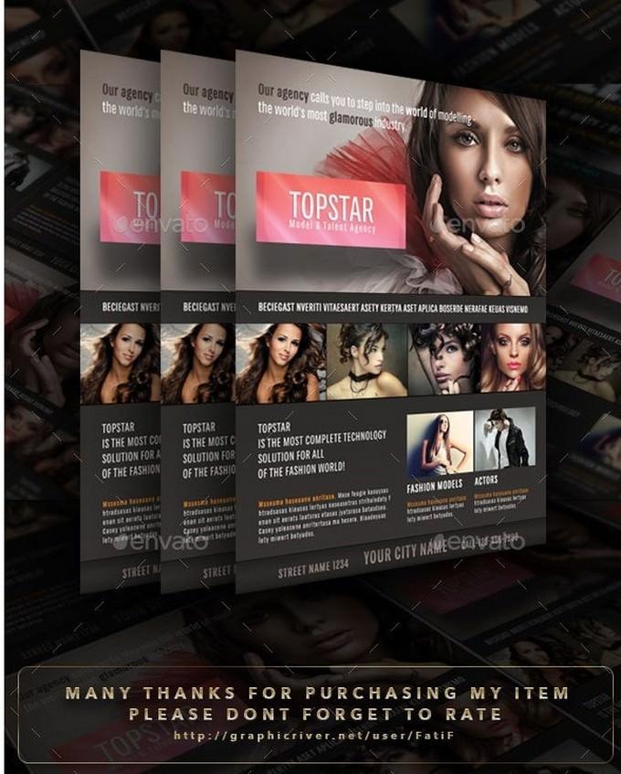 Top-Star-Model-Agency-Flyer
