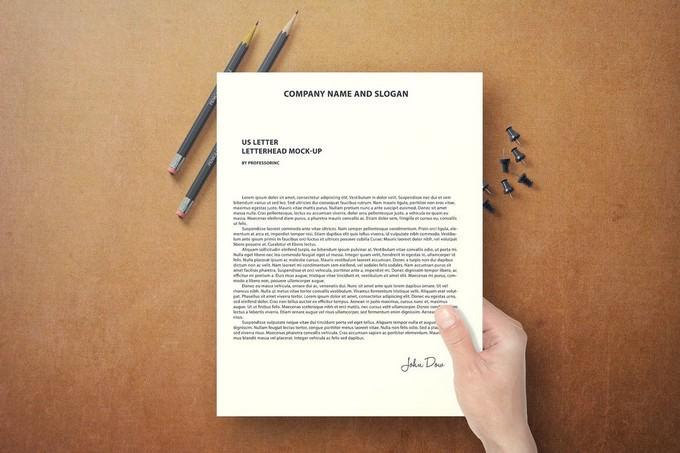 US Letter Letterhead