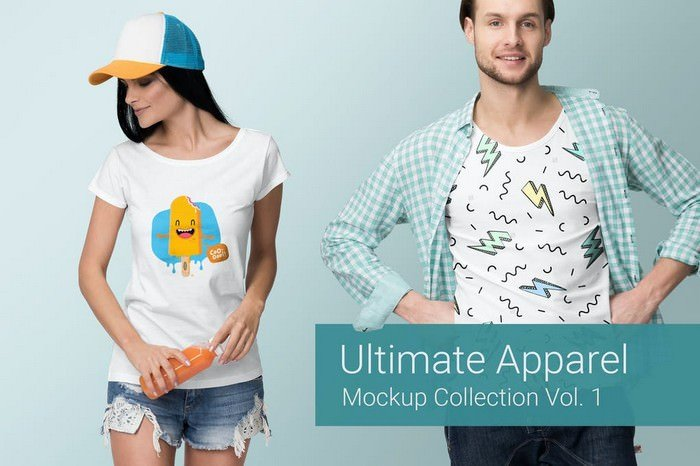 Ultimate Apparel Mockup Vol. 1
