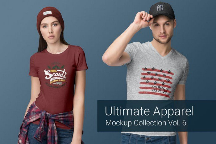 Ultimate Apparel Mockup Vol. 6