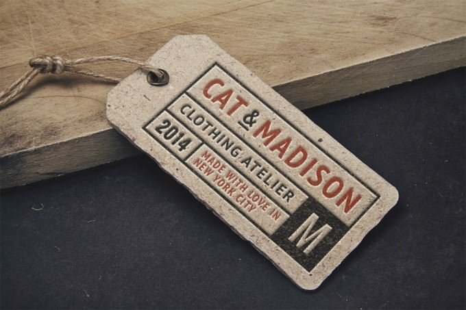 Vintage Label Tag