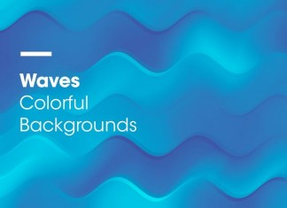 Wave Backgrounds Textures
