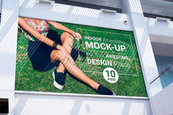 Indoor Advertising Mock-Up