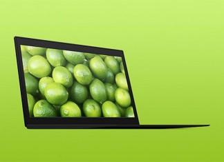 ThinkPad PSD Mockup