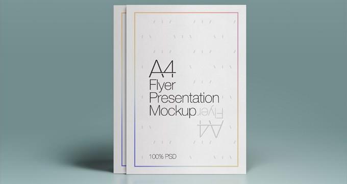 A4 Psd Flyer PSD