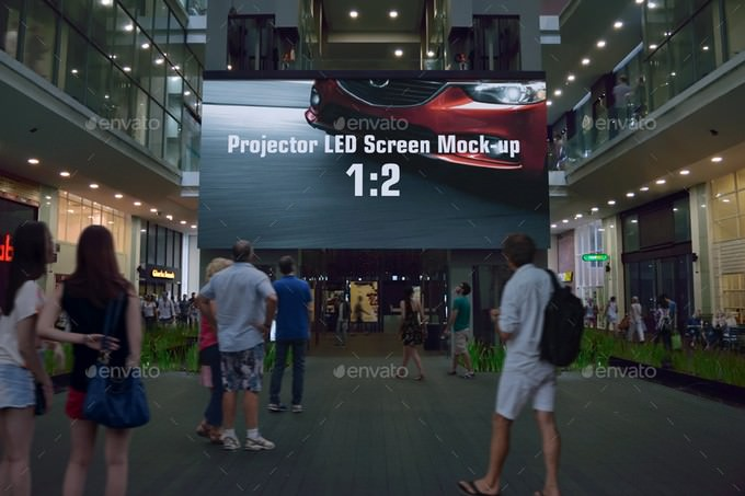 Ambient Advertising Mock-up