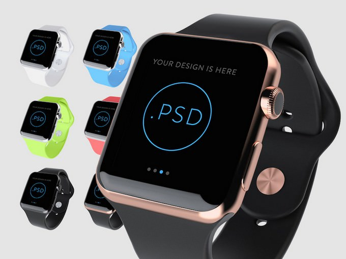 Apple Watch Free Mockup