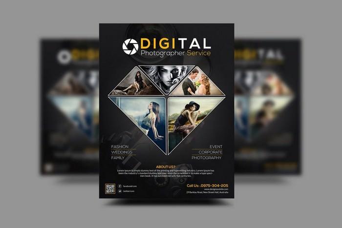Digital Photography Service Flyer