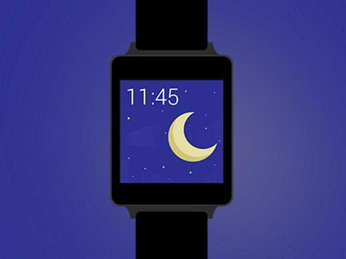 Flat LG G Watch Mockup