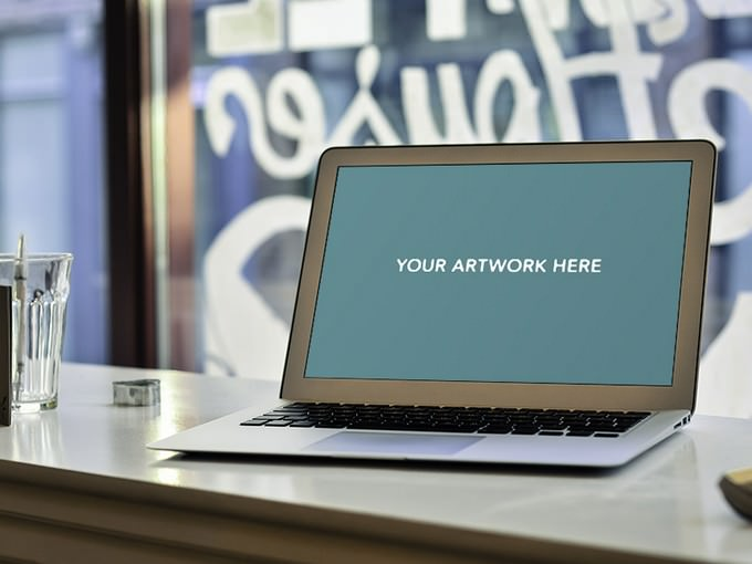 Macbook Air 13inch PSD Mockup