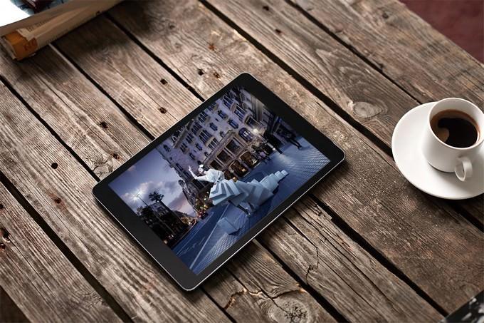 Tablet PC Mock-up