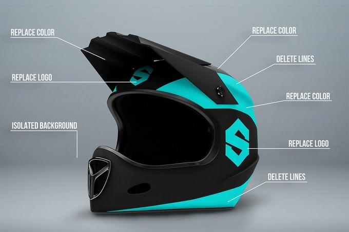 Fullface Motorcycle Helmet PSD