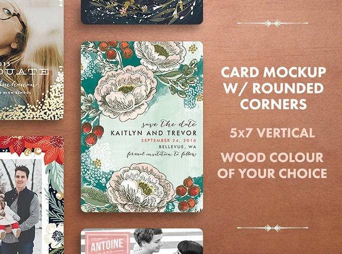 Holiday Card Mockup