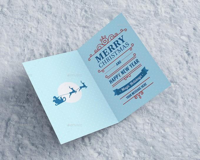 Invitation & Greeting Card Mockup PSD