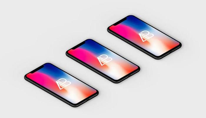 Isometric iPhone X App