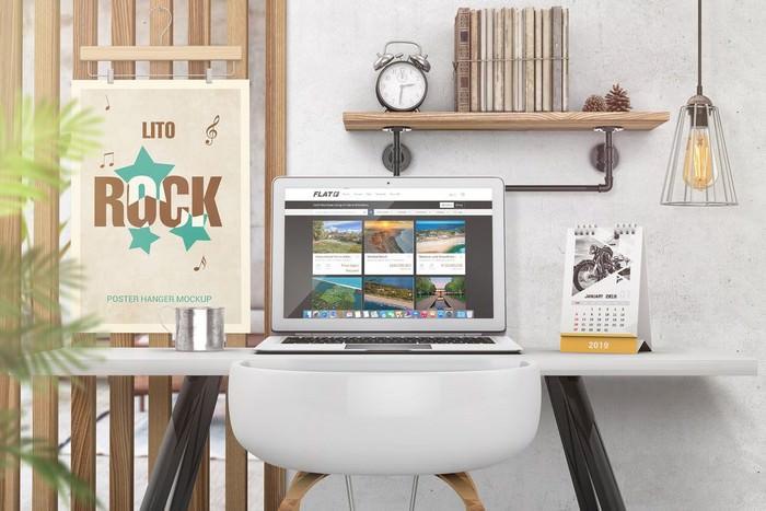 Laptop Mockups PSD