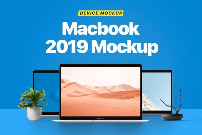 Macbook Mockup 2019