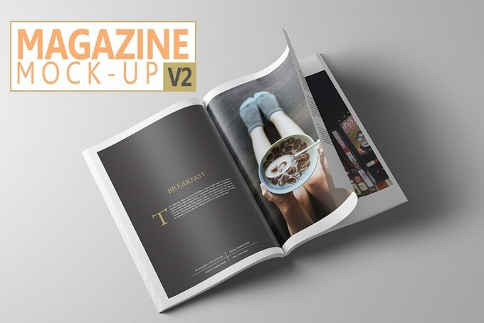Magazine Mock-Up PSD