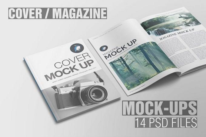 Magazine Mockup PSD