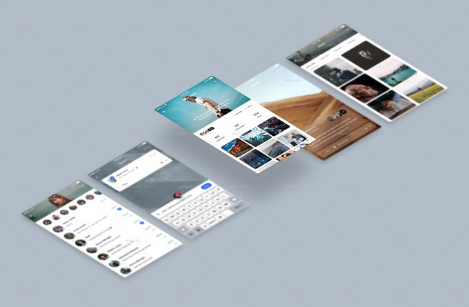 Mobile App Display Mockups