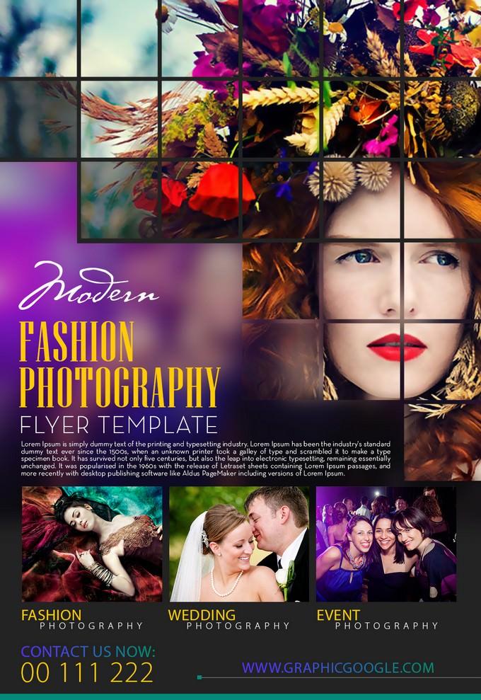 Modern Fashion Photography Flyer
