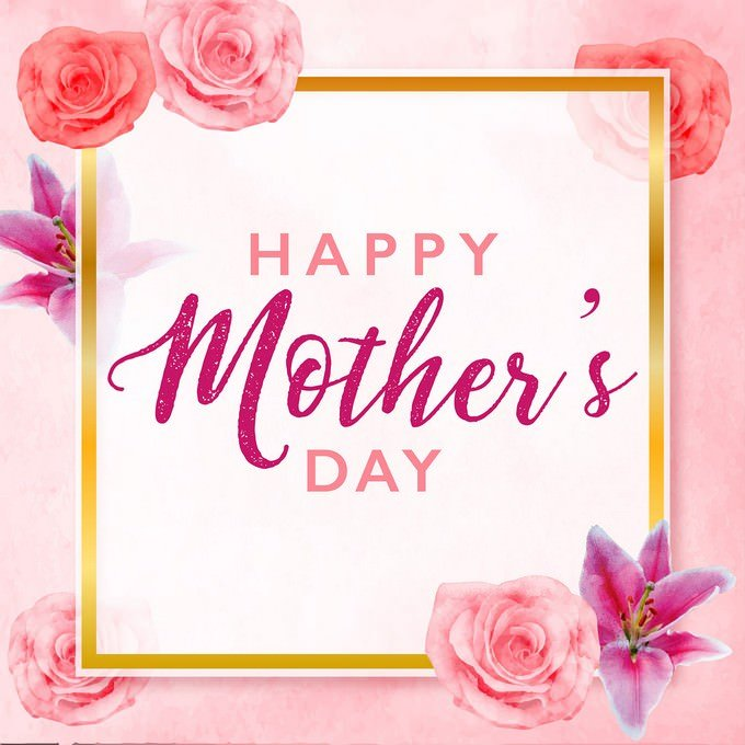 Mother's Day Greeting Card PSD