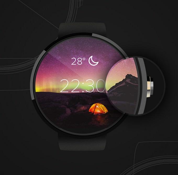 Moto360 Mockup PSD